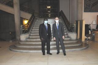 Rencontre du Président BERNASCONI avec le Président du CESE du Sénégal