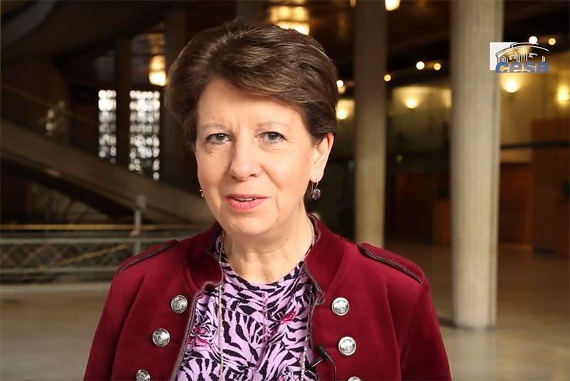 Marie-Béatrice LEVAUX, 1ère Vice-présidente de l'UCESIF