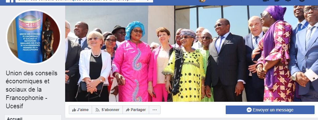 L'UCESIF se dote d'une nouvelle page Facebook